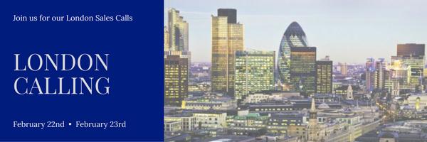 Phoenix Sales Calls – London, February 2017